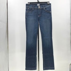 Hudson Kate midrise baby boot cut jeans womens 30